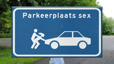De parkeerplaats